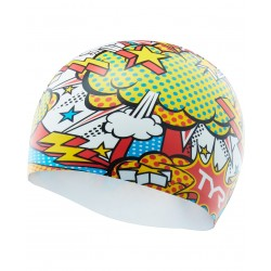 Comic Action Swim Cap