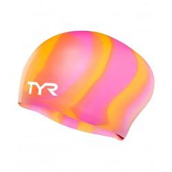 Long Hair Wrinkle-Free Swim Cap