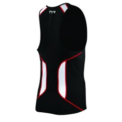 Carbon Male Tank w/Zipper