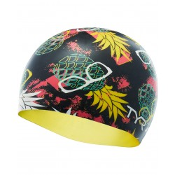 Pineapple Man Swim Cap