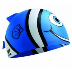Silicone Cap Happy Fish